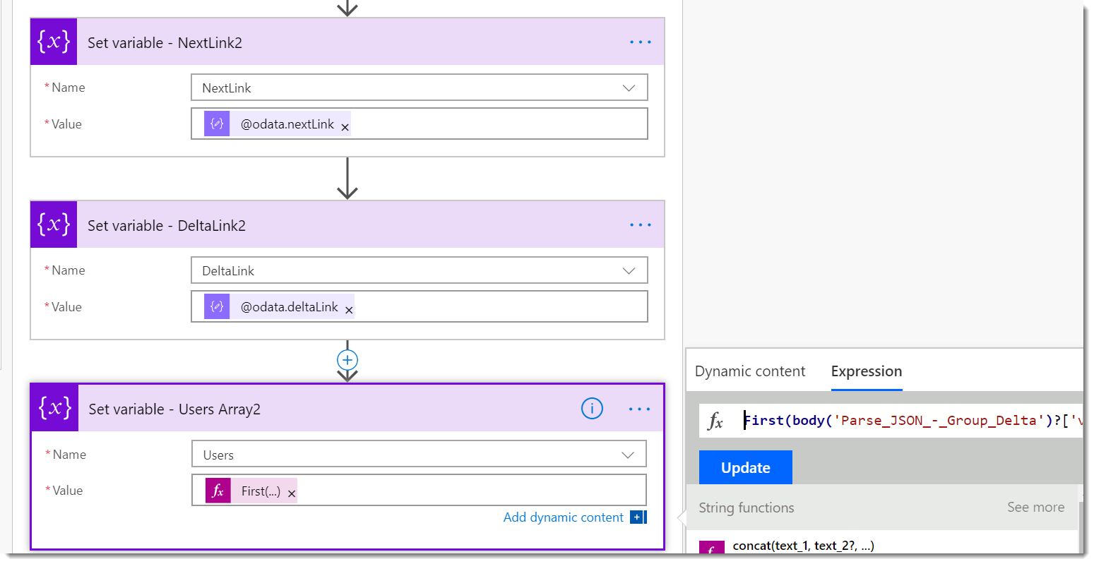 Microsoft Graph Delta Query from Microsoft Flow: Part 3 | AbleBlue LLC