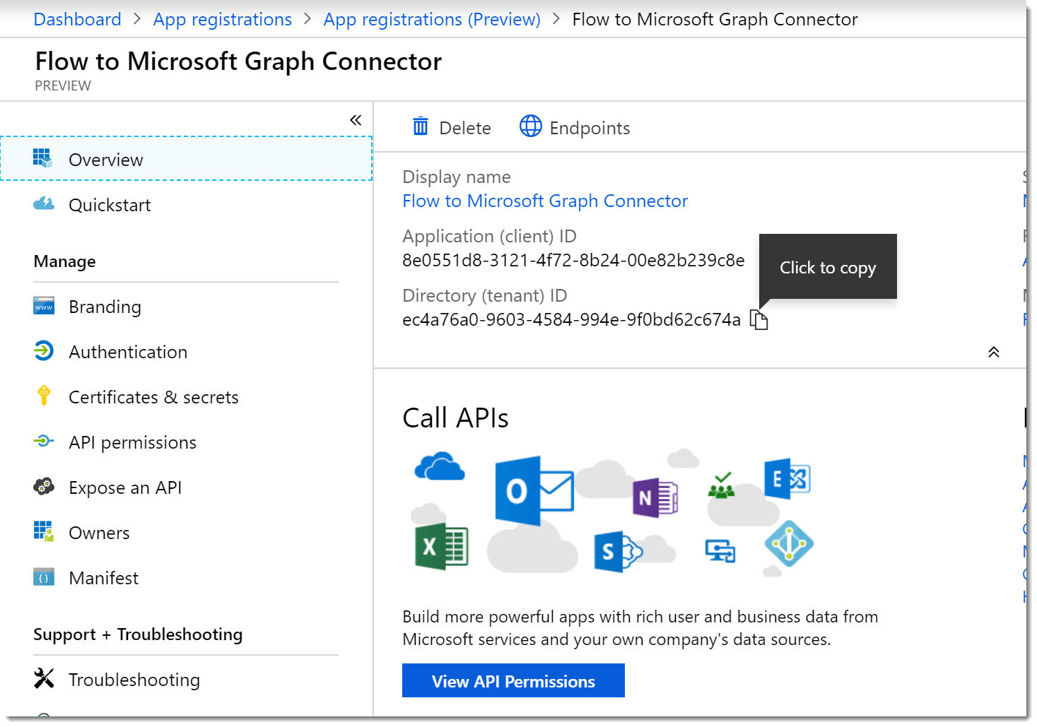 Create a Custom Flow Connector for the Microsoft Graph | AbleBlue LLC