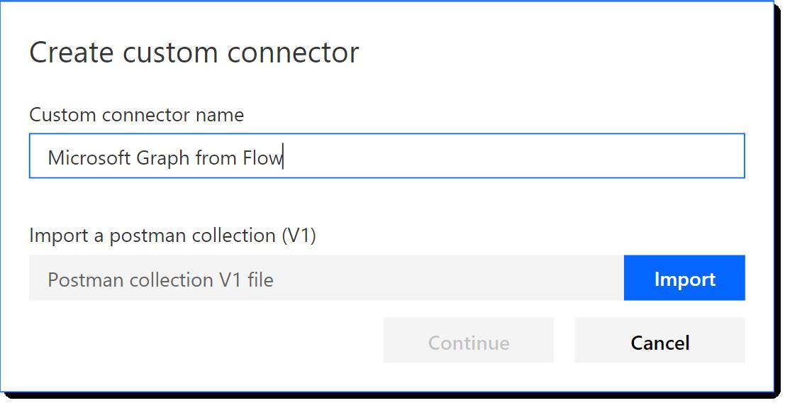 Create a Custom Flow Connector for the Microsoft Graph | AbleBlue LLC
