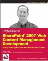 SharePoint 2007 Web Content Management Development