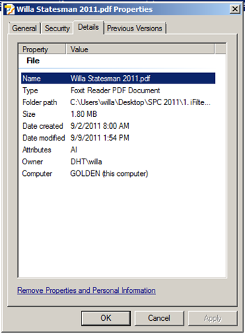 Troubleshooting iFilters and Crawled Properties   AbleBlue LLC