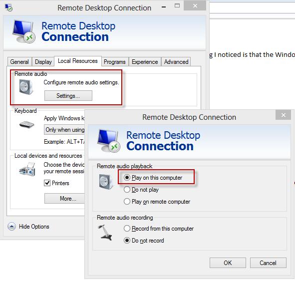 Enable Sound in Windows 8 Hyper-V | AbleBlue LLC