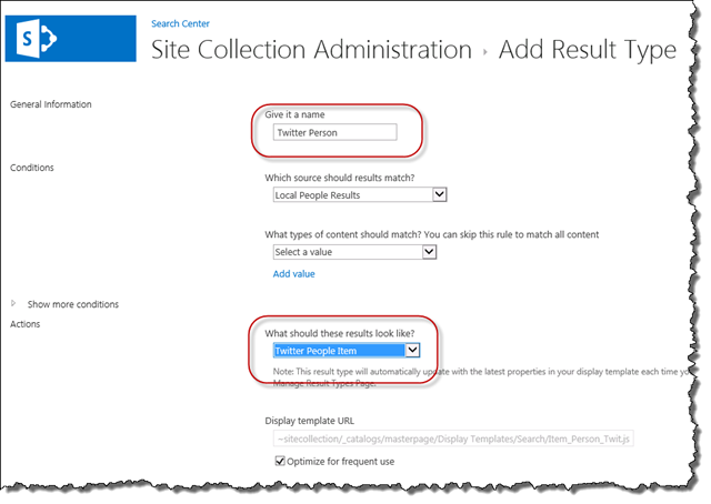 Introduction to sharepoint 2013 display templates ableblue llc update the result type maxwellsz