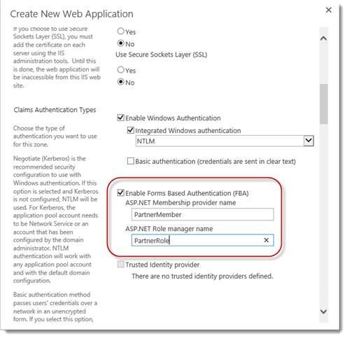 Configure SharePoint 2013 FBA through IIS   AbleBlue LLC