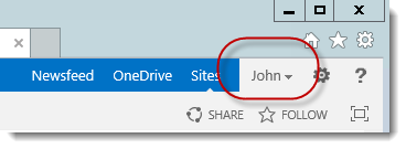 John has entered the site