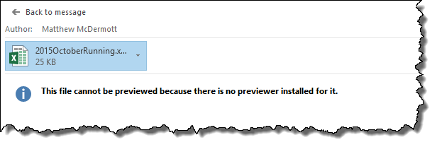 this file cannot be previewed outlook 2013