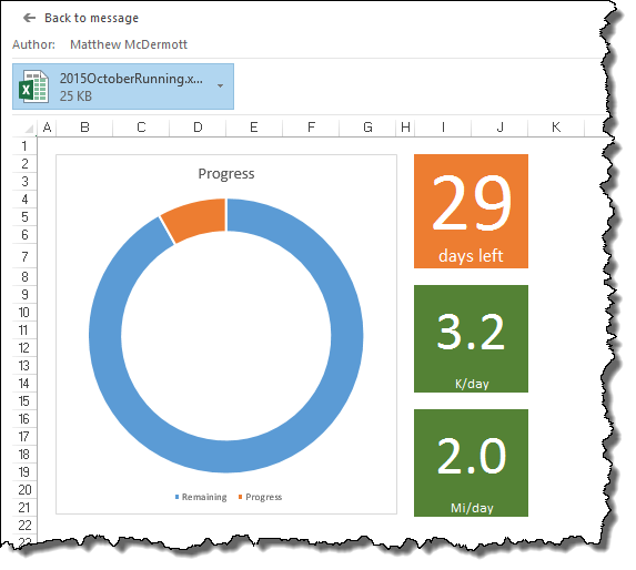 Fix Excel Previews in Outlook 2016 | AbleBlue LLC